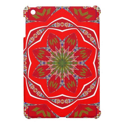 Pretty Red Art Designer iPad Mini Case