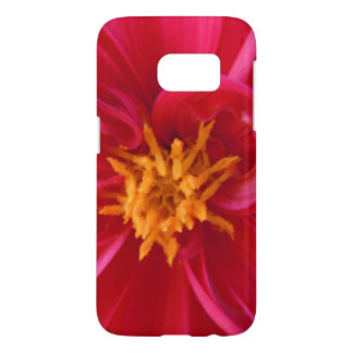 Pretty Red Dahlia - Samsung Galaxy S7 Case