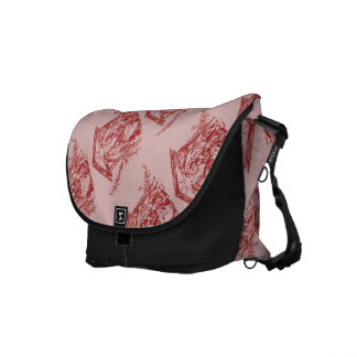 Pretty Red Nativity Commuter Bags