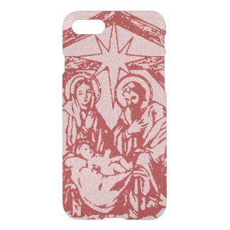Pretty Red Nativity iPhone 8/7 Case