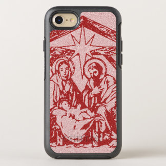 Pretty Red Nativity OtterBox Symmetry iPhone 8/7 Case