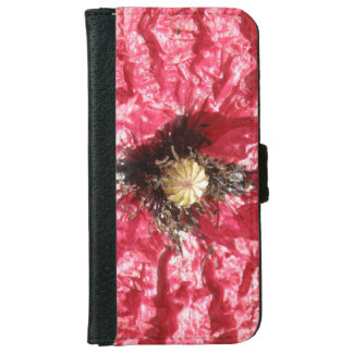 Pretty Red Poppy Flower Macro iPhone Case