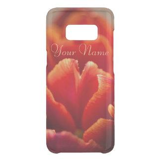 Pretty Red Tulip Petals. Add Your Name. Uncommon Samsung Galaxy S8 Case