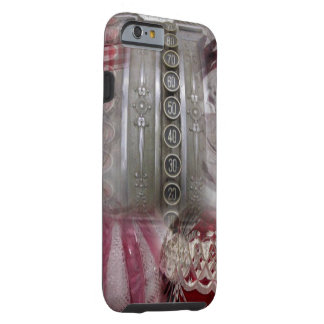 pretty Red Victorian Collage Tough iPhone 6 Case