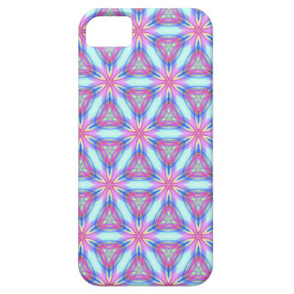 Pretty repeating kaleidoscope mandala pattern iPhone 5 case