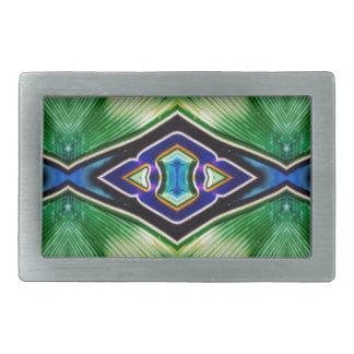 Pretty Rich Shades Of Green Blue Lavender Belt Buckles