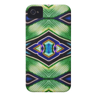 Pretty Rich Shades Of Green Blue Lavender Case-Mate iPhone 4 Case