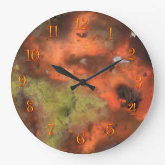 Pretty Rock Large Clock