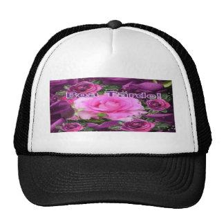 pretty rose aa trucker hat