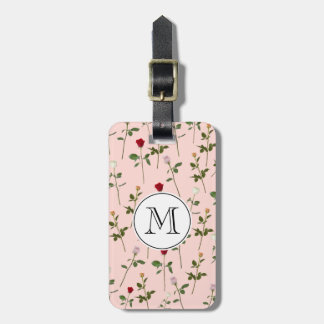 Pretty Roses Luggage Tag