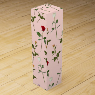 Pretty Roses Wine Gift Box