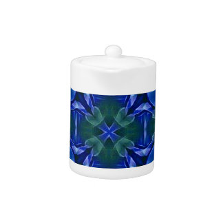 Pretty Royal Blue Cross Shape Pattern