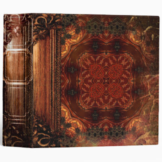 Pretty Rustic Faux Brown Leather Ancient Tome Binders