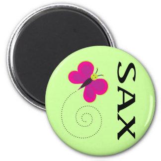 Pretty Saxophone Gift Magnet