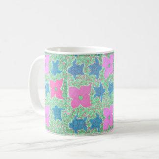 Pretty Sea Turtle Tropical Pattern Mug