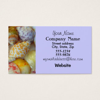 Pretty Seashells Business Card
