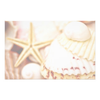 Pretty Seashells Stationery