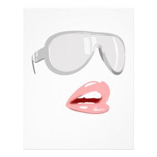 Pretty Shades & Lips Letterhead