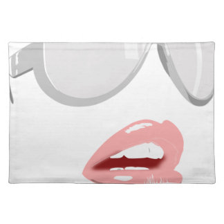 Pretty Shades & Lips Placemat