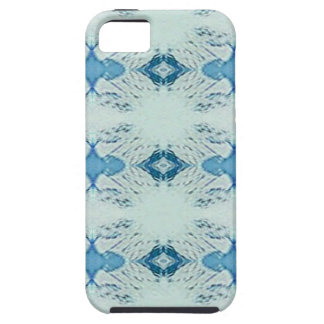 Pretty Shades of Blues In Modern Pattern iPhone 5 Cover