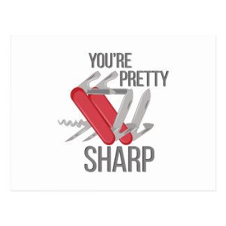 Pretty Sharp Postcard