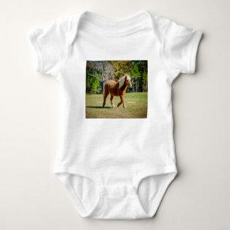 Pretty Shetland Pony Baby Bodysuit