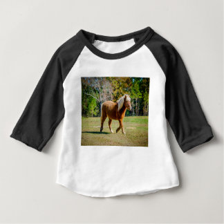 Pretty Shetland Pony Baby T-Shirt