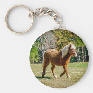 Pretty Shetland Pony Keychain