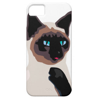 pretty siamese kitty cat case for the iPhone 5