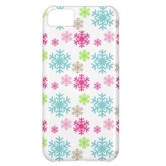 pretty snowflakes iphone case