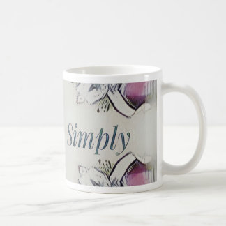 Pretty Soft Rose Colored Lifestyle Quote Coffee Mug