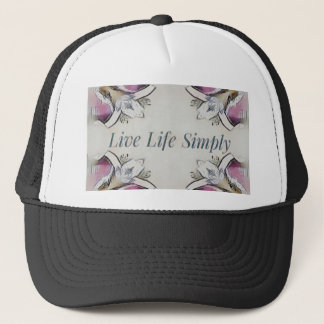 Pretty Soft Rose Colored Lifestyle Quote Trucker Hat