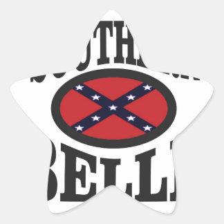 pretty southern belle star sticker