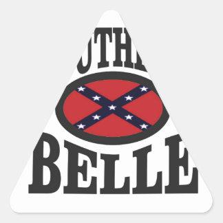 pretty southern belle triangle sticker