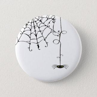 PRETTY spiderweb 2 Inch Round Button
