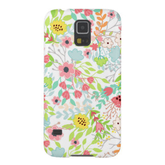 Pretty Spring Flowers Floral Pattern Galaxy S5 Covers