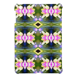 Pretty Spring Pink Green Pattern Case For The iPad Mini