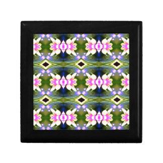 Pretty Spring Pink Green Pattern Gift Box