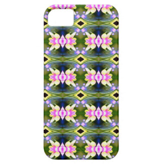 Pretty Spring Pink Green Pattern iPhone 5 Case