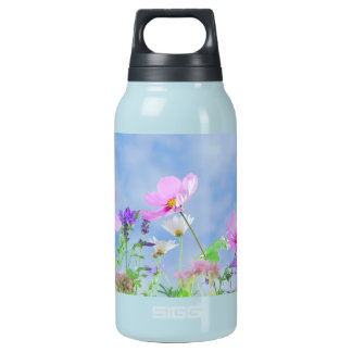 Pretty Spring Wild Flowers Insulated Water Bottle