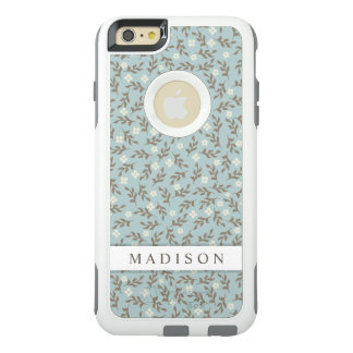 Pretty Stylish Vintage Floral Pattern OtterBox iPhone 6/6s Plus Case