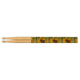 Pretty Sunflowers Drum Sticks