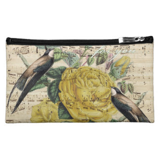 Pretty Swallow Song Makeup Bag