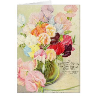 Pretty Sweet Peas Card