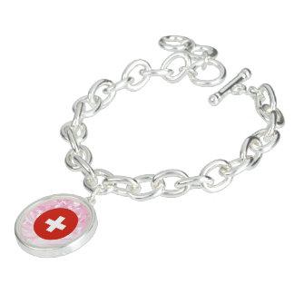Pretty Swiss Souvenir Charm Bracelets