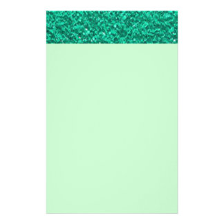 Pretty Teal Plaster Texture Stationery