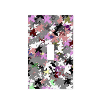 PRETTY TREE LEAVES LIGHT SWITCH COVER