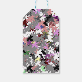 PRETTY TREE LEAVES PACK OF GIFT TAGS
