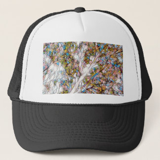 Pretty Tree Of Life Stained Glass Photomanipulatio Trucker Hat