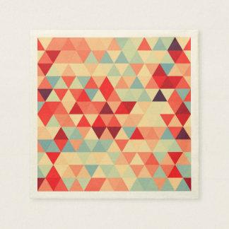 Pretty Triangle pattern II + your ideas Paper Napkin